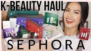 KOREAN BEAUTY HAUL FROM SEPHORA | Lots of Innisfree, Holiday Kits, and more!