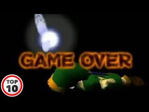 Top 10 Dumbest Ways To Die In Zelda