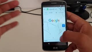 Removendo Conta Google LG K5 em 2018.