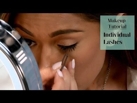 How to Apply Individual Lashes on Yourself
