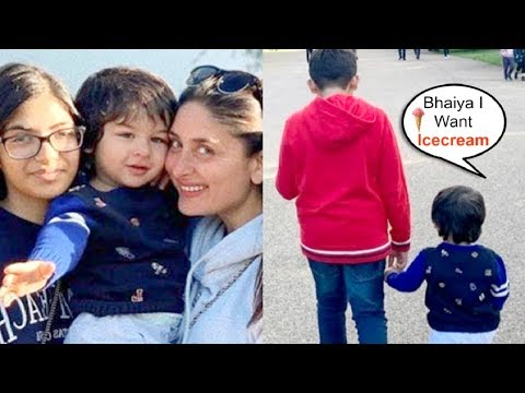 Taimur Ali Khan Spreading His CUTENESS In London With Mommy Kareena Kapoor Mp3