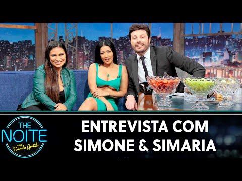 Entrevista com Simone & Simaria  The Noite 250719
