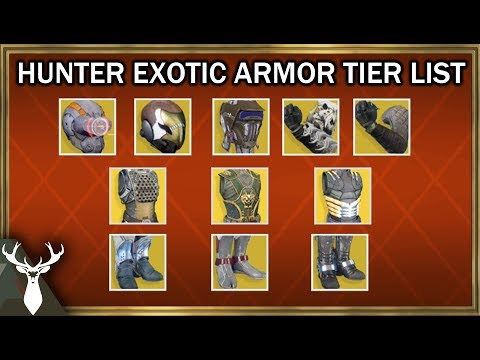 Destiny 2 - What is the Best Hunter Exotic Armor? (PvE and PvP Tier List)