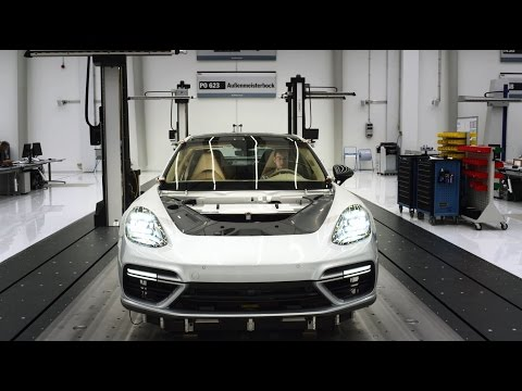The new Panamera - quality process inside the Porsche production