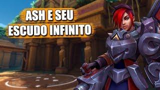 Ash e Seu Escudo Infinito | Paladins