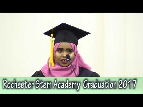 Rochester Stem Academy  Graduation 2017