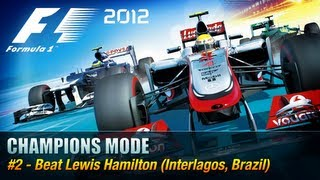 F1 2012 - Champions Mode - #2 Lewis Hamilton [Xbox 360 / PS3 / PC]