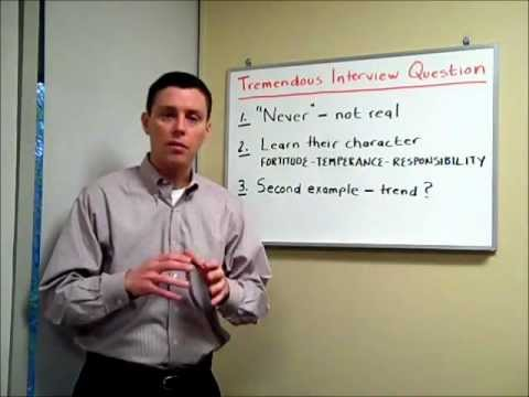 Tremendous Job Interview Question #72 -- Co-Worker Conflict - YouTube