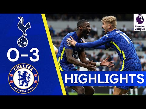 Tottenham 0-3 Chelsea |  Silva, Kanté and Rudiger ensure victory in the Derby!  |  Reflexes