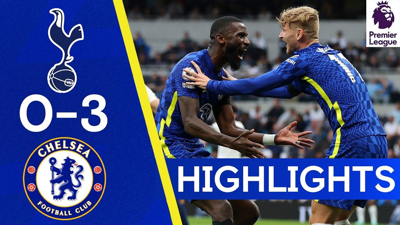 Download Tottenham 0-3 Chelsea | Silva, Kanté & Rudiger Secure Derby Win! |  Highlights