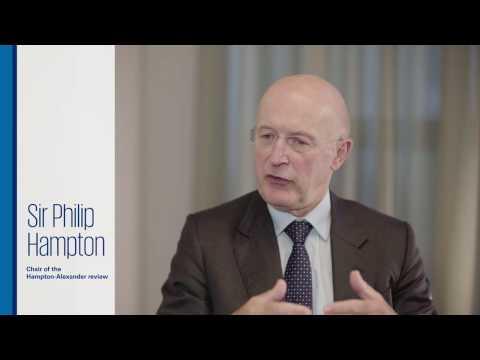 GlaxoSmithKline Chairman Sir Philip Hampton discusses the gender gap