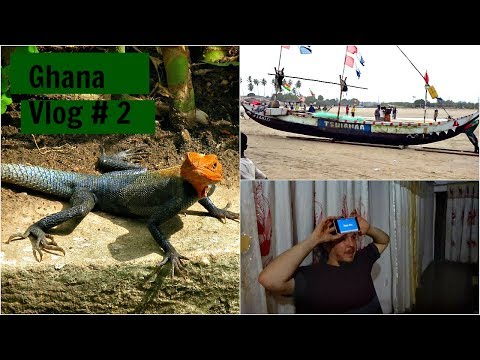 Ghana Study Abroad Vlog #2 Buying Fabric, looking for the lizard, Bean Boozeled and Games