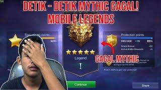 Detik Detik Mythic Gagal - Mobile Legends