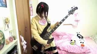 干物妹!うまるちゃん OP のベース弾いてみた 【ちい】 ちいぱんchiipan