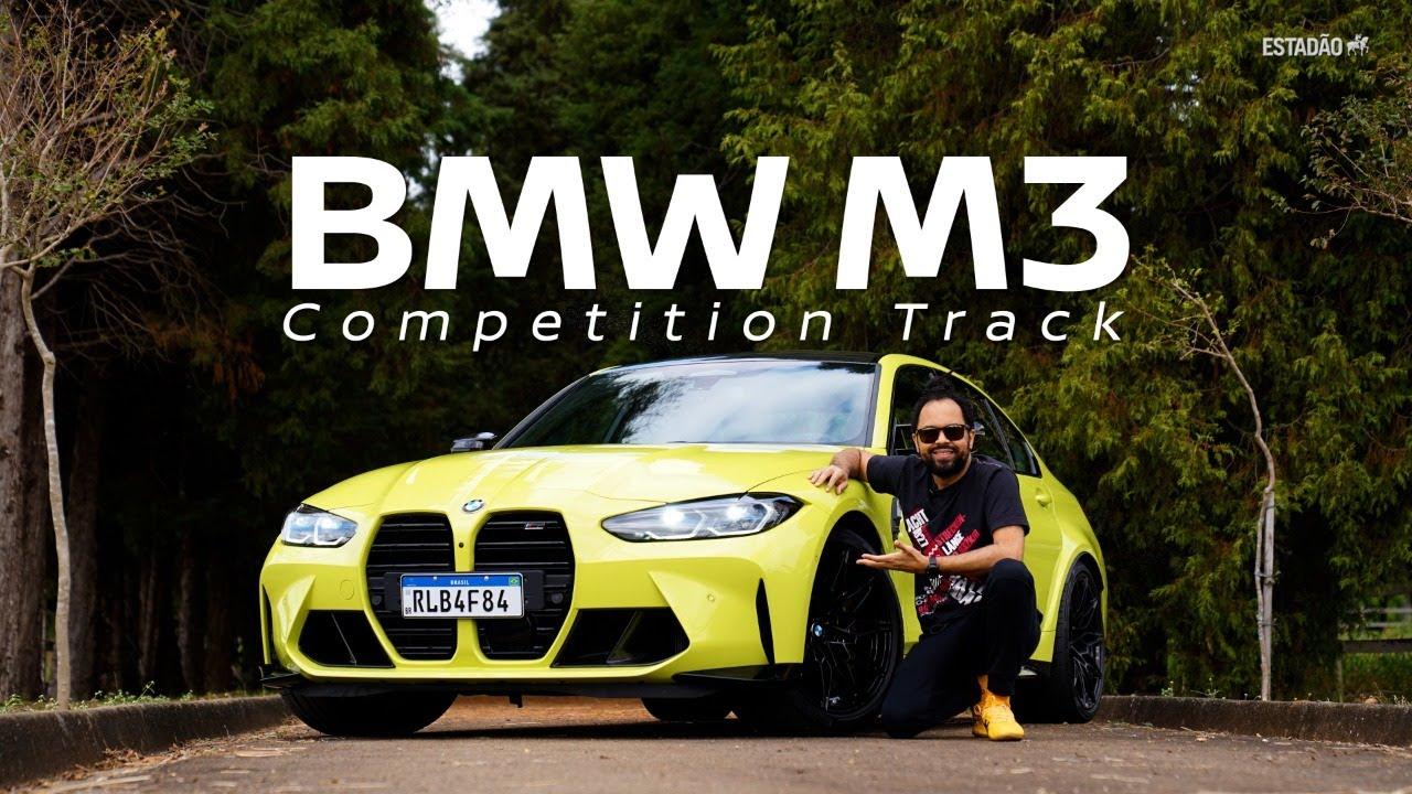 BMW M3 Competition Track te ensina a pilotar e até cuida dos passageiros