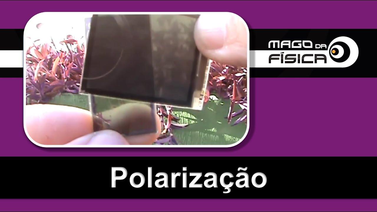 Mago da Física - Polarização (Como obter um Polarizador) - YouTube 464a65f2d0