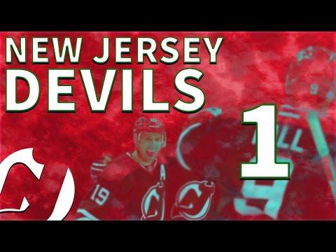 Nonsense in Newark   NHL 17 New Jersey Devils Franchise Mode - Ep. 1