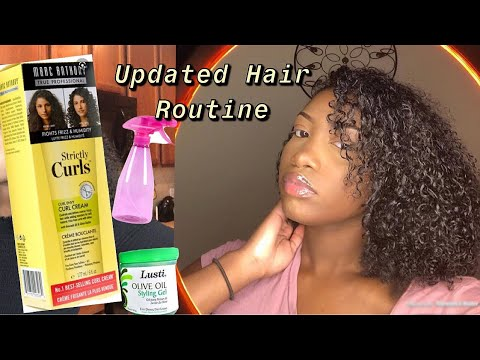 UPDATED Natural Hair Routine ❤️ +wash day routine Liyah Joineé 