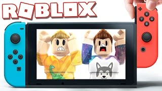 Roblox Adventures - STUCK IN A NINTENDO SWITCH IN ROBLOX! (Escape the Nintendo Switch Obby)