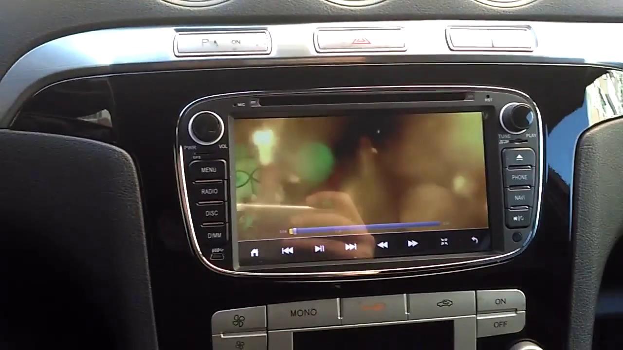 Auto Radio Ford S Max Gps Dvd Bluetooth Usb Android Focus Mondeo C Max Braga Portugal Youtube
