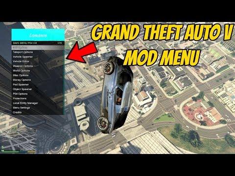 How To Get A GTA 5 Mod Menu On PS4 PlayStation 4 Jailbreak