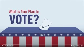 CAIR Muslims.Vote PSA: What is Your Plan to Vote?