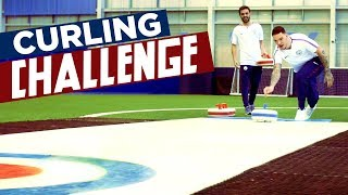 CURLING CHALLENGE! | Ederson v Bernardo | Man City Winter Olympics