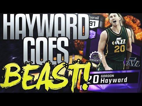 NBA 2K17 MYTEAM AMETHYST GORDON HAYWARD GAMEPLAY! BUDGET BALLER'S HEAVEN!