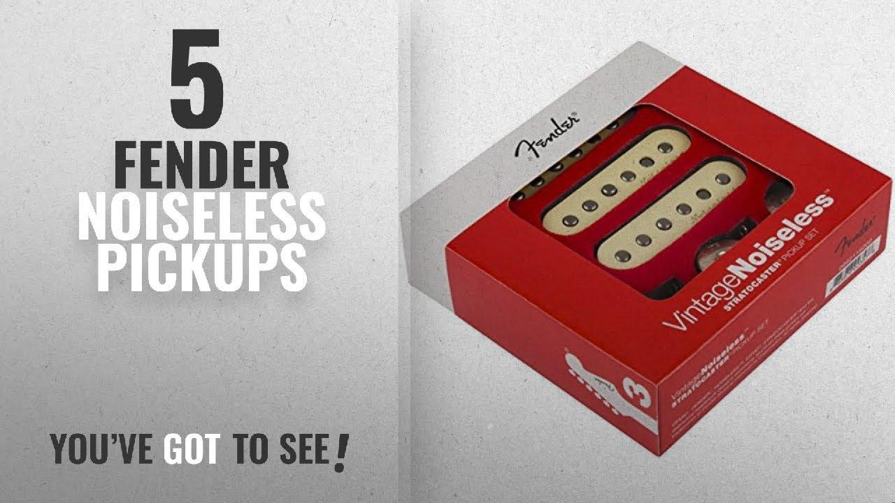 Fender Vintage Noiseless Strat Pickups Accessories >> Top 10 Fender Noiseless Pickups 2018 Fender Vintage Noiseless Stratocaster Pickups Set White 3