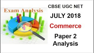 CBSE UGC NET JULY 2018 Answer Key Commerce Paper 2 Nav Classes