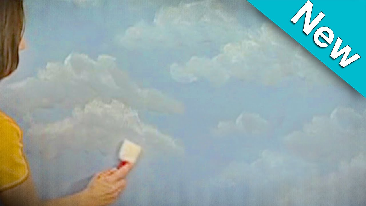 New Cloud Technique How To Faux Finish Painting By The