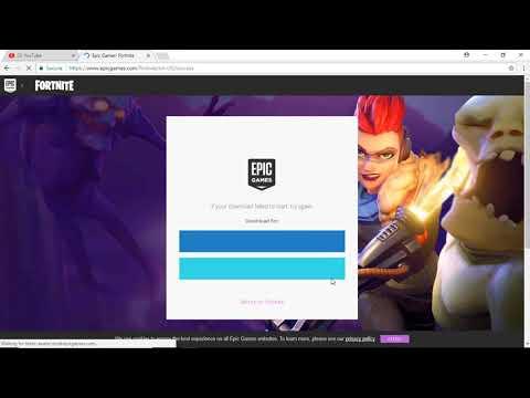 smotret video how to download install fortnite battle royal on pc or laptop onlajn skachat na mobilnyj - fortnite herunterladen laptop