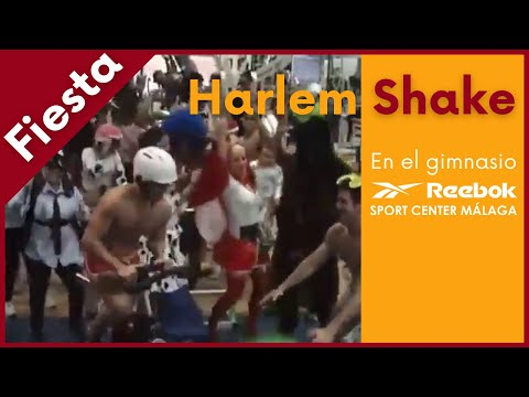 Harlem shake gimnasio reebok sport center m laga youtube for Gimnasio malaga