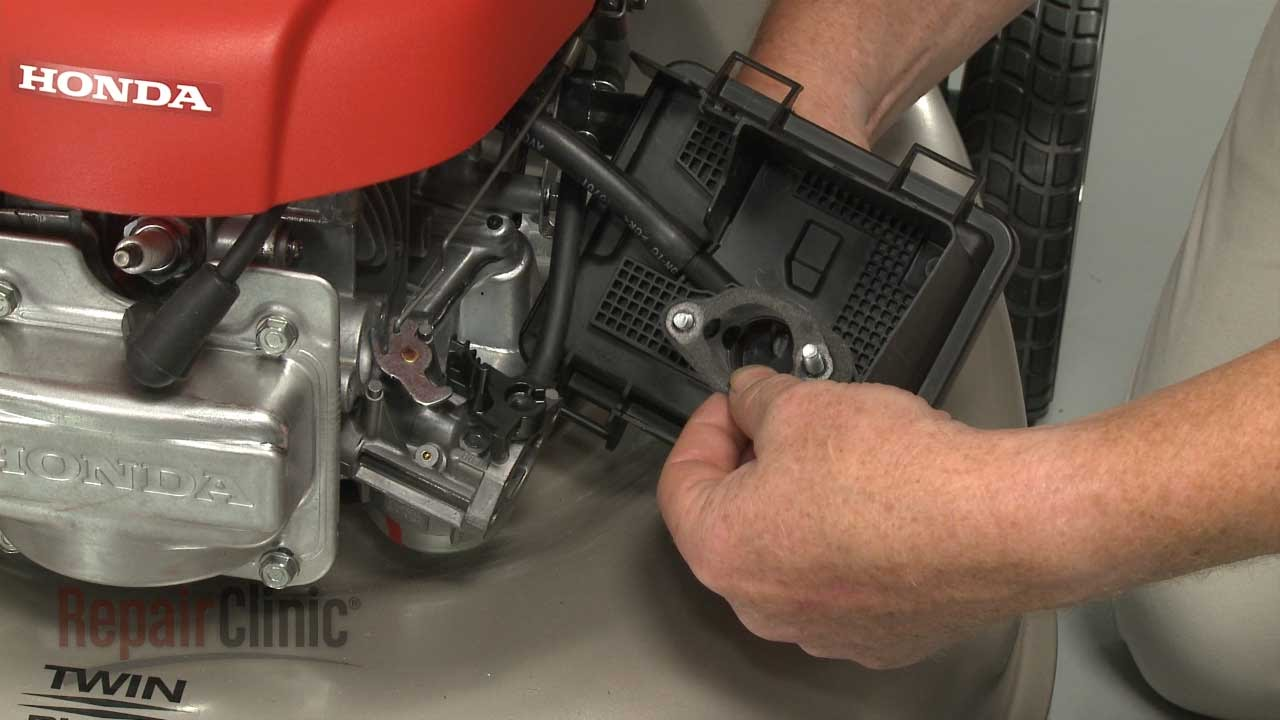 Honda Small Engine Replace Air Cleaner Gasket #17228-Z8B-900 - YouTube
