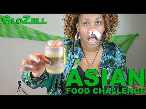 Glozell Baby Food Challenge