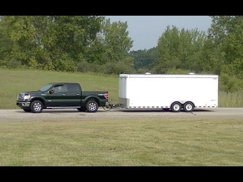 2013 Ford F 150 Ecoboost Towing Tech Demo Youtube