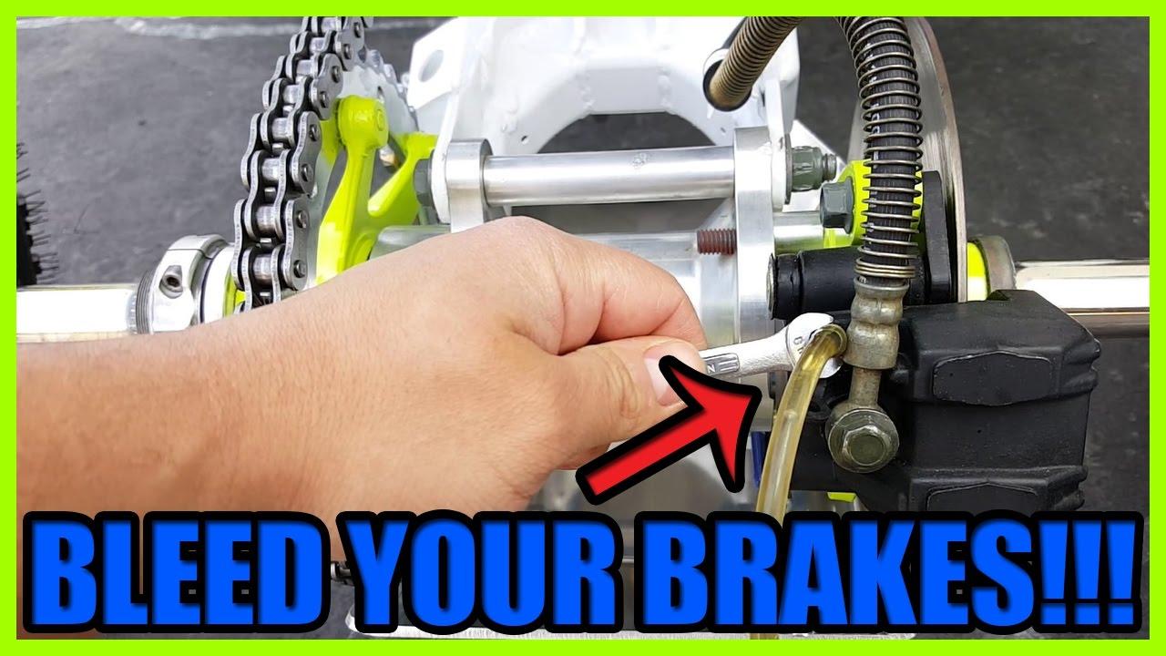 How To Bleed and Adjust Banshee Back Brake