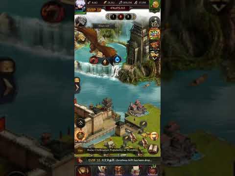 Clash Of Kings - K1172 Vs K749 - Kvk RALLY 1G+ Castles