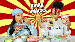 Baixar AMERICANS TRYING ASIAN SNACKS!!!!