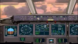 FSX Full Flight Movie: Hawaiian flight #712