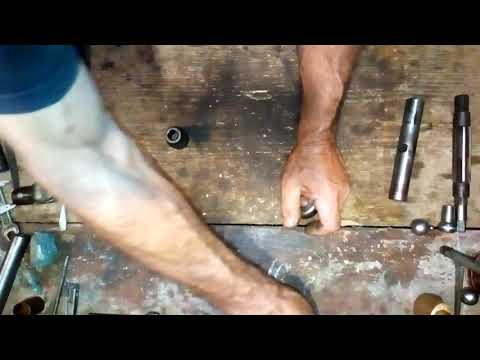 Ремонт рулевого редуктора Газель без Гур (перешивка часть 2)