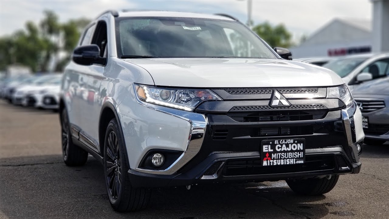 2020 Mitsubishi Outlander Le First Look 2020 Outlander Le Review