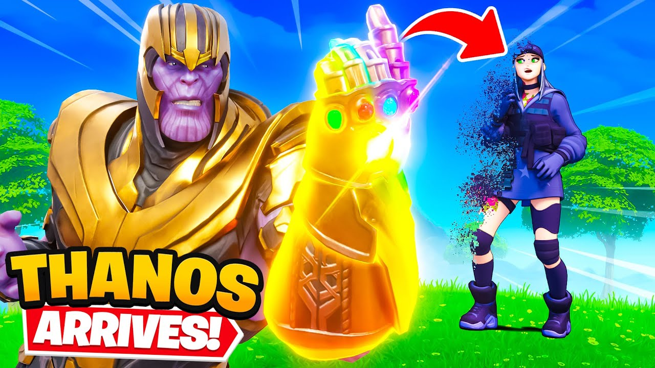 THANOS IS HERE!