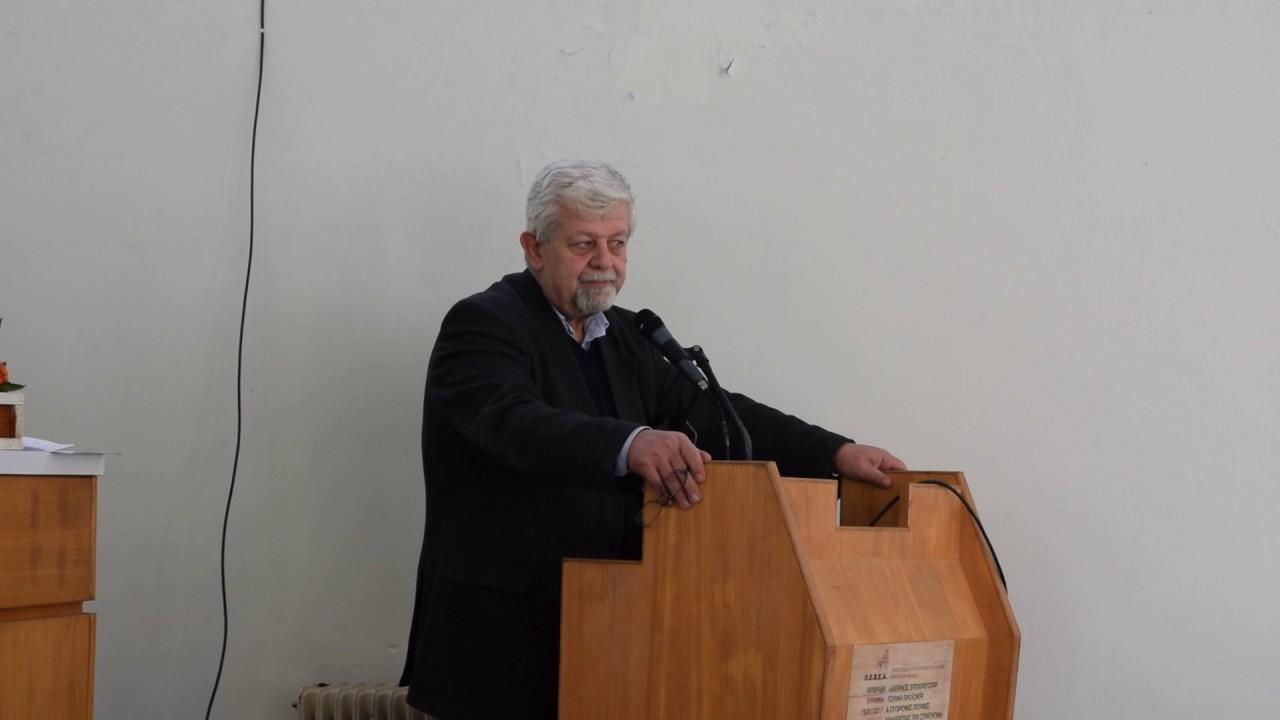 Χαιρετισμός του Δημάρχου Τρίπολης Δημήτρη Παυλή στην Ημερίδα για νέους παραγωγούς- μεταποιητές