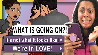 My Mom Caught Me KISSING MY CRUSH!!! ( Living With My Crush #9 | Episode Choose Your Story )