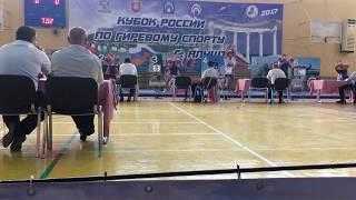 длинный цикл - Сергей Балабанов - 93 раза (32 кг+32 кг)