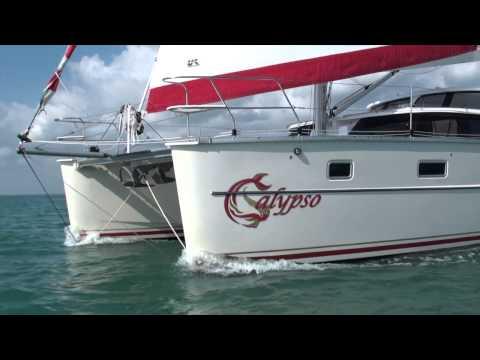 Sailing Antares s/v Calypso Catamaran