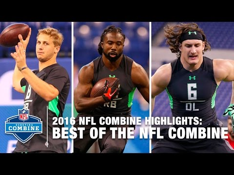 The Best Of The NFL Combine   2016 NFL Combine Highlights