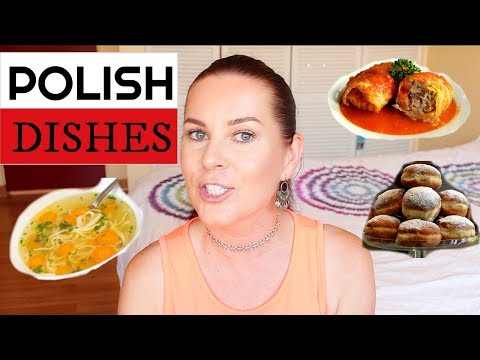 POLISH // Polish Dishes Explained + Polish Food // ItsEwelina