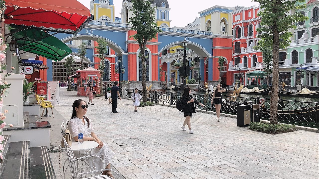 Ngỡ ngàng Châu Âu thu nhỏ giữa lòng Phú Quốc - Grand world #PhuQuoc